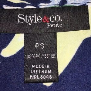 Style & Co Tops - [Style&co.] Petite Sleeveless Top